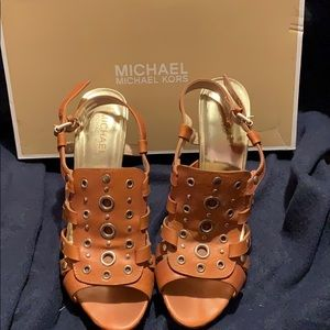 Michael Kors Tan High Heels